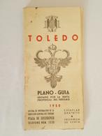 1950 - Toledo - Piano - Guia - Cartes