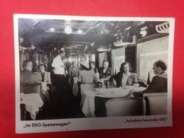 Im DSG Speisewagen 2118 - Trains