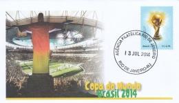 Brazil Cover 2014 FIFA World Cup Brazil   (G90-19) - Fußball-Weltmeisterschaft