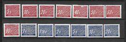 LOTE 1660  ///  BOHEMIA Y MORAVIA   YVERT Nº: 1/14 *MH  ( 2 VALORES CON DEFECTO - VER IMAGEN) - Unused Stamps