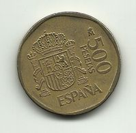 1988 - Spagna 500 Pesetas, - [ 5] 1949-… : Regno
