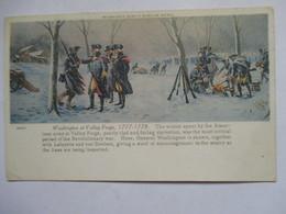 WASHINGTON  AT VALLEY  FORGE  1777/1778              TTB - Milwaukee