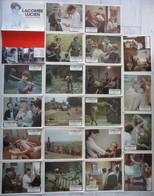 Lot 20 Photos D'exploitation Cinéma Et Affichette Lacombe Lucien De Louis Malle - Cinema Advertisement