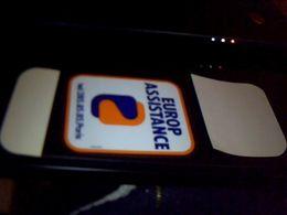 Autocollant  Publicite Assurance  Europ Assistance - Stickers