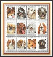 D797 ST.VINCENT FAUNA DOGS 1KB MNH - Dogs