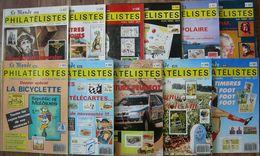REVUE LE MONDE DES PHILATELISTES Année 1990 Complète (n° 437 à 447). - Magazines