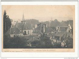 La Clayette Ancienne église Saint Avoilt Cpa Bon état - France