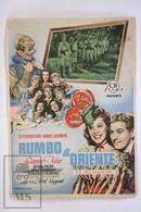1941 Cinema/ Movie Advertising Leaflet - Up In Arms - Danny Kaye,  Dinah Shore,  Dana Andrews - Cinema Advertisement