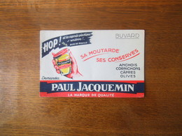 PAUL JACQUEMIN  LA MARQUE DE QUALITE SA MOUTARDE SES CONSERVES ANCHOIS CORMICHONS CÂPRES OLIVES - Mostard