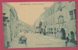 25 - MONTBELIARD----Rue Des Granges---animé - Montbéliard