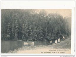 Le Cadolon L étang Cpa Bon état - France