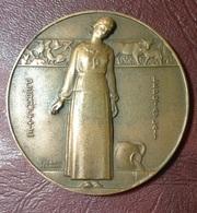 FRANCE - Médaille PERRETTE / LE POT AU LAIT Par Jean Vernon - Professionals / Firms