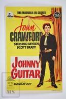 1954 Cinema/ Movie Advertising Leaflet - Johnny Guitar - Joan Crawford,  Sterling Hayden,  Scott Brady - Cinema Advertisement