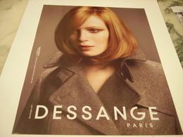 PUBLICITE AFFICHE SALON DESSANGE - Perfume & Beauty