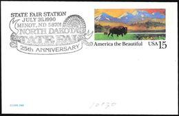 "Stati Uniti/United States/États-Unis: ""State Fair North Dakota"" - Esposizioni Universali"