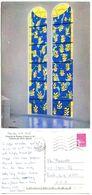 France 1998 Postcard Chappelle De Rosaire A Vence, Stained Glass By Matisse, Scott 2600 - Fine Arts