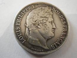 Module De 5 Francs Louis Philippe I Visite De La Monnaie De Rouen Le 18 Mai 1831 (rare) - Royal / Of Nobility