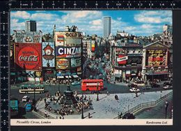 Londra London - Piccadilly Circus - Non Viaggiata - FR1 - Piccadilly Circus