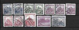 LOTE 1661  ///  BOHEMIA Y MORAVIA   YVERT Nº: SELLOS DE LA SERIE 25/37 - Usados