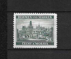 LOTE 1661  ///  BOHEMIA Y MORAVIA   YVERT Nº: 35 NSG - Usados