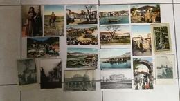 Beau Lot De 33 CPA Salonique Grece - Postcards