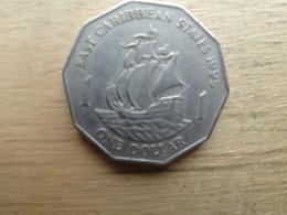 East  Caraibes  1  Dollar  1995  Km 20 - Territoires Britanniques Des Caraïbes