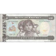 TWN - ERITREA 2 - 5 Nakfa 24.5.1997 Prefix AD UNC - Erythrée