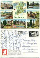 Ireland 1973 Postcard Map & Scenic Views, Scott 330 Europa - Ireland