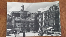 CP NEUVE  ESPAGNE SEGOVIE SEPULVEDA  PLAZA MAYOR Y CASTILLO - Segovia