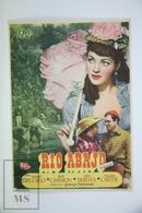1947 Cinema/ Movie Advertising Leaflet - River Lady - Yvonne De Carlo,  Dan Duryea,  Rod Cameron - Cinema Advertisement