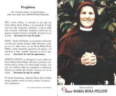 VEN. MARIA ROSA PELLESI  -  CON RELIQUIA - Mm. 70 X 115 - M - APRIBILE - Religione & Esoterismo