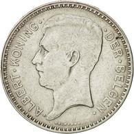 Belgique, 20 Francs, 20 Frank, 1934, TTB+, Argent, KM:104.1 - 1909-1934: Albert I