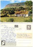 Ireland 1960's Postcard Ben Bulben Mountain, Co. Sligo, To U.S., Scott 113 Sword - Sligo
