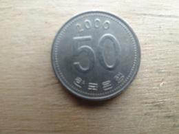 Koree Du Sud  50 Won  2000  Km 34 - Corée Du Sud