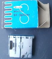 Colleuse MINETTE DF - SPLICER Pour SUPER - 8 - Bobines De Films: 35mm - 16mm - 9,5+8+S8mm
