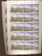 1995 Vue Panoramique De La Ville De Luxembourg  1313/16  Petit Feuillet - Luxembourg