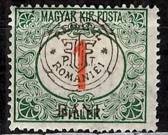 Roumanie/Transylvanie/Cluj (Kolozvar) Timbre-taxe YT N° 1 Neuf *. Signé. B/TB. A Saisir! - Transylvania
