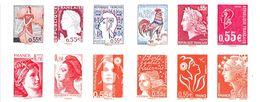 Carnet N°CA1518 - Carnet**  Marianne - Les Visages De La Ve République - 2008 - People