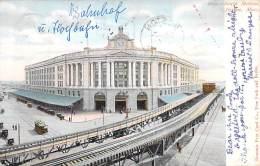USA Etats Unis ( MA Massachussetts ) BOSTON South Station - CPA - Train Station Bahnhof Treinstation Stazione Ferroviari - Boston