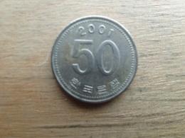 Koree Du Sud  50 Won  2001  Km 34 - Corée Du Sud