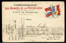 Carte FM En 1915 Pour Auzolles - Ref F224 - Poststempel (Briefe)