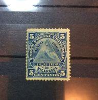 NICARAGUA-Coat Of Arms (5) 1882 - Nicaragua