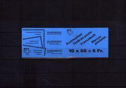 Schweiz / Switzerland 1993 Booklet / MH Michel 0-94 Postfrisch / MNH - Blocchi
