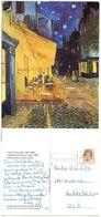 "Netherlands 1990's Postcard Art Painting Vincent Van Gogh, ""Cafe Terrace At Night, Arles"" - Paintings"