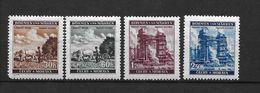 LOTE 1661  ///  BOHEMIA Y MORAVIA   YVERT Nº:  65/66 *MH - Bohemia Y Moravia