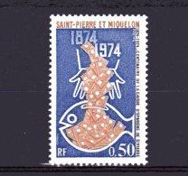 437 Centenaire De La Caisse D'épargne De Saint-pierre Neuf Lot 71 - St.Pierre & Miquelon
