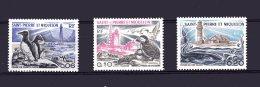 445-447 Phaares Neuf 1975 Les 3 Timbres Lot 73 - St.Pierre & Miquelon