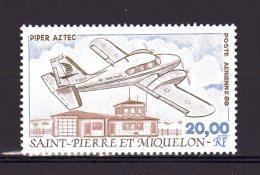 68 1989 Avion D'air Saint-pierre En Val Lot 82 - Airmail