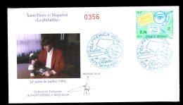 Premier Jour Le Salon Du Timbre 15 Octobre 1994 Lot 86 - FDC