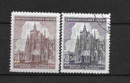 LOTE 1662  ///  BOHEMIA Y MORAVIA   YVERT Nº:  119/120 - Bohemia Y Moravia